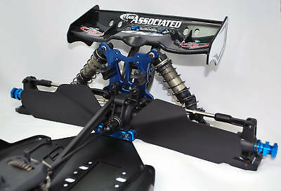 DE Racing Mud Guards for Team Associated RC8T truggy (DER-110-AT)