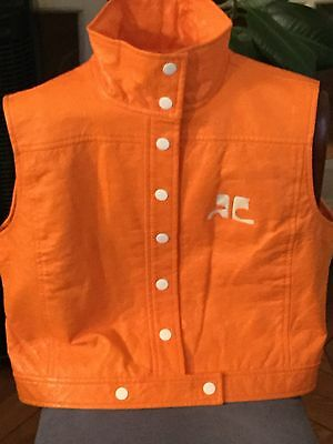 Courreges: Blouson Orange