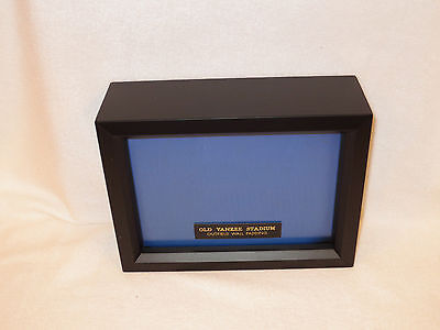 """PIECE OF """"OLD YANKEE STADIUM"""" 5""""x7""""X3"""" GAME USED VINTAGE OUTFIELD WALL PADDING"""