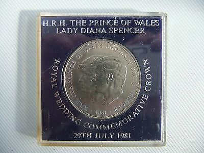 Prince of Wales 1981  commemorative crown cased mint