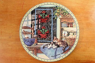 Collector Plate Hannah Hollister Ingmire Lazy Morning