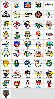 Badge Pin: CONCACAF Сonfederation of North Central American and Caribbean