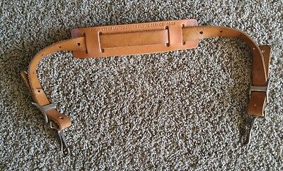 United states postal service leather shoulder bag strap