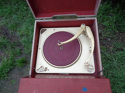 Vintage Valve Record Player ECL82 EZ80 Collaro Conquest Deck all Working