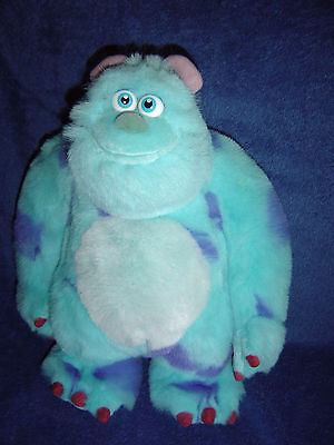 "Large Hasbro 12"" Disney Monsters Inc - Sully  Soft Plush Toy"