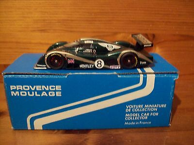 1/43 PROVENCE MOULAGE K1664 BENTLEY EXP SPEED 8 3rd LE MANS 2001 #8 WALLACE/VAN