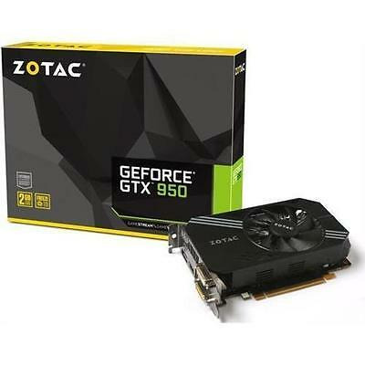 ZOTAC GeForce GTX 950 2GB GDDR5 PCI-E 3.0 Video Card NEW
