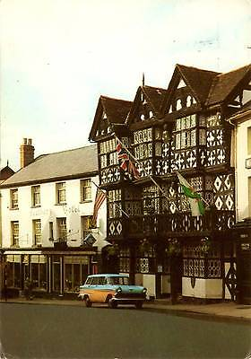 Feathers Hotel - Ludlow - Shropshire - Postcard 1974