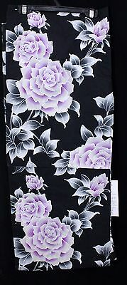 浴衣 Yukata japonais - Roses  - Import direct Japon 1427