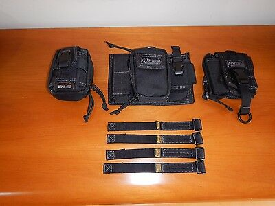 Maxpedition Triad Admin Pouch + TC-5 Pouch + Anemome Pouch