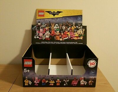 LEGO Batman Minifigures *EMPTY BOX* Only - No Lego - Might be of use or Display