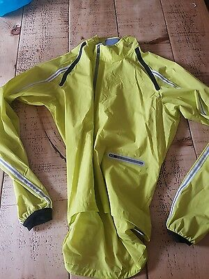 Rapha chartreuse wind Jacket size XL excelent condition