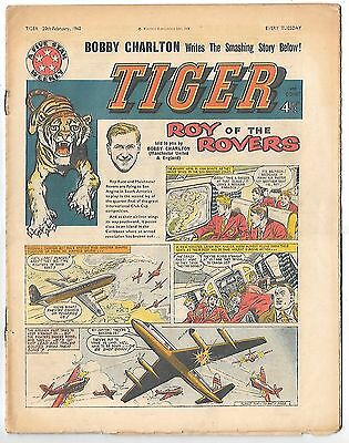 Tiger 20th Feb 1960: Jet-Ace Logan, Olac the Gladiator, Rockfist Rogan...and Roy