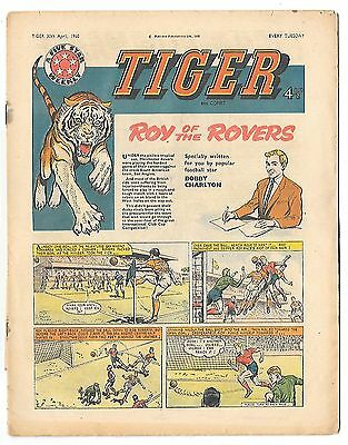 Tiger 30 Apr 1960: Jet-Ace Logan, Olac the Gladiator, Rockfist Rogan... and Roy