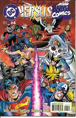 DC versus Marvel #4 (of 4; 1996 1st printing) 48 pages - card covers