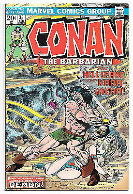 Conan the Barbarian #35 (Marvel 1974, fn+ 6.5) Roy Thomas & John Buscema
