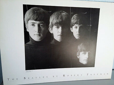 With the BEATLES by ROBERT FREEMAN. ¡¡ Signed !! Firmada.