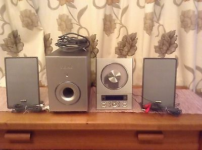 Teac Cd-X9 Micro Hi-Fi System Spares Or Repair