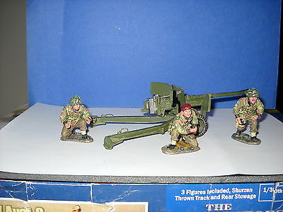 King And Country Mg019 Anti Tank Gun Mint In Box
