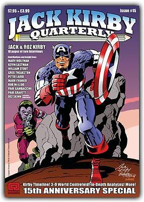 SALE ENDS SUNDAY Jack Kirby Quarterly #15 (68 colour pages)