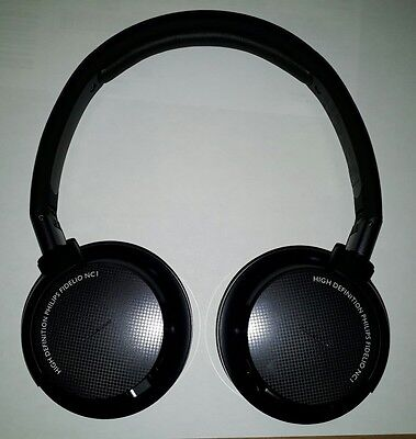 Philips Fidelio NC1 pilotes 40mm Noise Cancelling perdent-back prime Casques