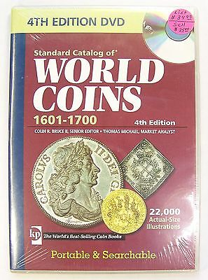 Standard Catalog of World Coins 1601-1700, 4th Edition DVD