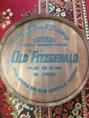 Stitzel Weller Sour mash Kentucky Bourbon Whiskey Old Fitzgerald Barrel Top