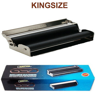 KING SIZE GSD CIGARETTE ROLLING MACHINE BAR HIGH QUALITY METAL CIGARETTE 110mm