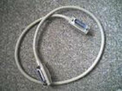 Unknown 488GB GPIB IEEE488 Metal Connector 1 Metre Cable - USED - UNTESTED