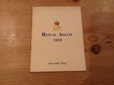 Royal Ascot 1959, Second Day