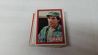 M.A.S.H tv show Trading cards