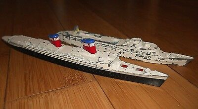 2X Vintage Triang Minic Ships Ss United States M704 & Rms Canberra M715  Rare  C