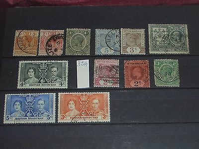 Queen Victoria to Geo V1 British Honduras stamps mint & used (i do combine p&p)