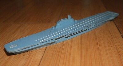 Vintage Triang Minic H.m.s. Bulwark M751 Diecast Aircraft Carrier Model Ship