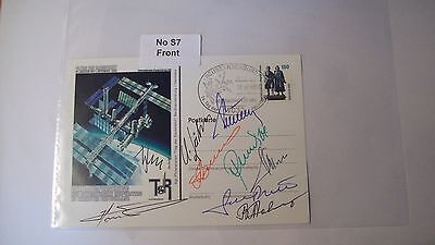 Cosmonaut Autographs Personally Hand Signed From an Old Collection, ref NoS7