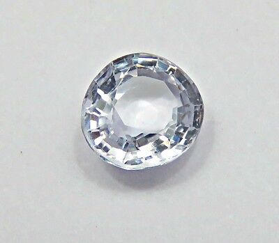1.16 Cts Natural Certified Ceylon White Sapphire Oval Loose Gemstone