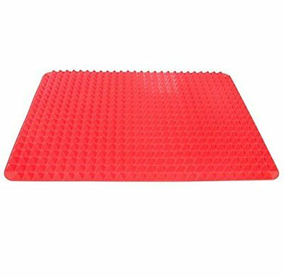 Silicone Cooking Mat,Non Stick Pyramid Pan Fat Reducing Oven Baking Tray Sheets