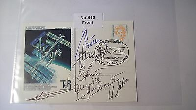 Cosmonaut Autographs Personally Hand Signed From an Old Collection, ref NoS10