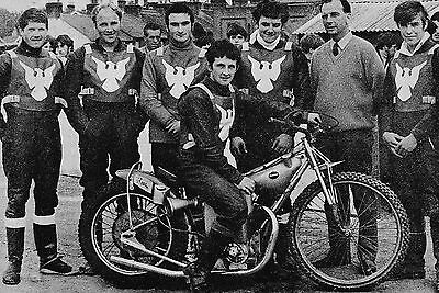 Weymouth Eagles 1968 Speedway Team Photograph