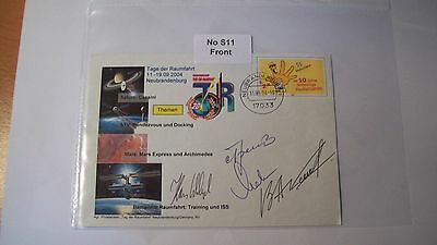 Cosmonaut Autographs Personally Hand Signed From an Old Collection, ref NoS11