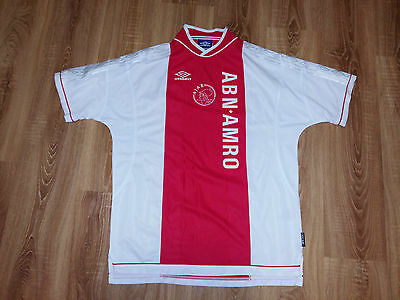 Ajax 1999 - 2000 rare vintage home mint shirt size XL