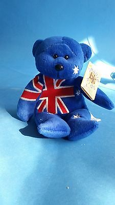Beanie Kids Australia's Cutest Collectables G'Day The Aussie Bear - Excellent Co