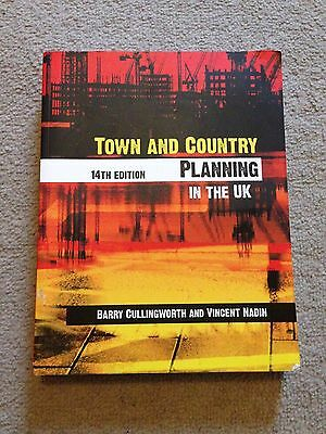 Town and Country Planning in the UK 14th Edition