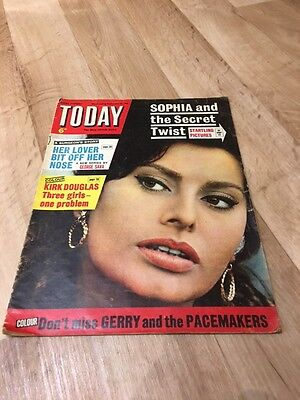 Today W/E September 28th 1963 - Sophia Loren and the Secret Twist