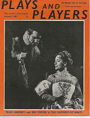 Plays and Players January 1961 Peggy Ashcroft / Eric Porter The Duchess of Malfi