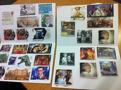 GB Selection of X 31 stamps in various Used And Unused Condition