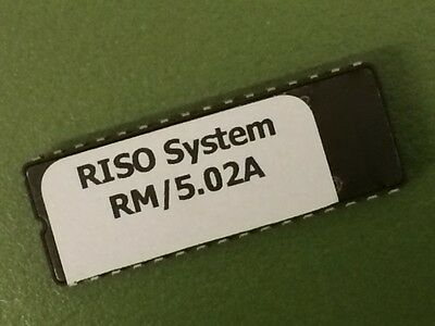 Riso Spare Part Risograph GR System-ROM Version RM 5.02A - GR2750 GR3750