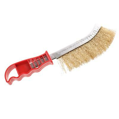 Home Heavy Duty Dense Steel Wire Hand Brush for Metal Rust Paint Cleaning