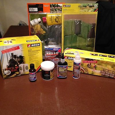 NOCH 60135 GRAS-MASTER 2.0 +with Sound Station And Glues SELLING AS JOB LOT