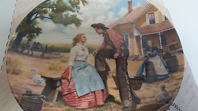 Knowles Oklahoma Oh What A Beautiful Mornin Kunstler 1985 1st Issue 13630B Plate